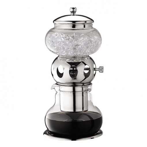 Tiamo HG2606 Dutch Coffee Maker Chrome