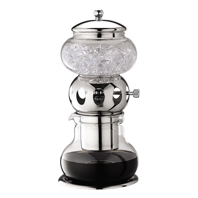Tiamo HG2606 Dutch Coffee Maker Chrome