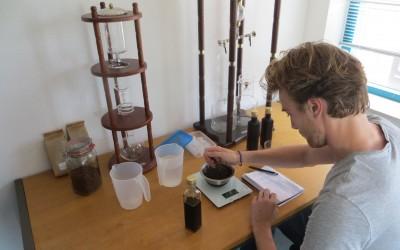 Dutch Coffee Experiments week 2 – de hoeveelheid koffie