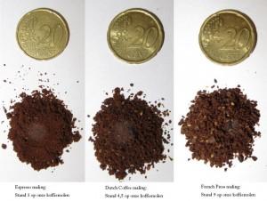 Dutch Coffee maken - hoe fijn te malen